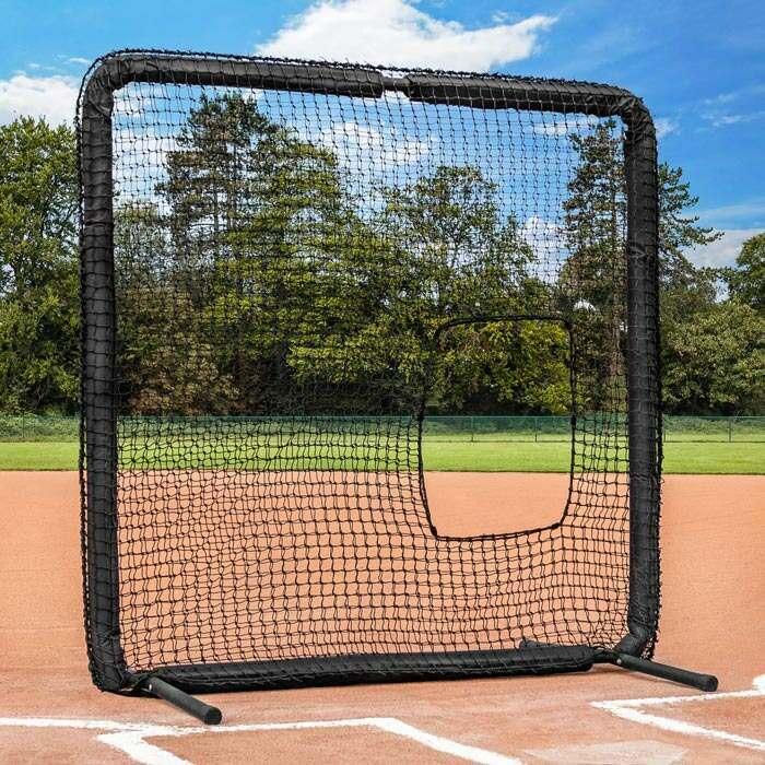 softball pitching screen