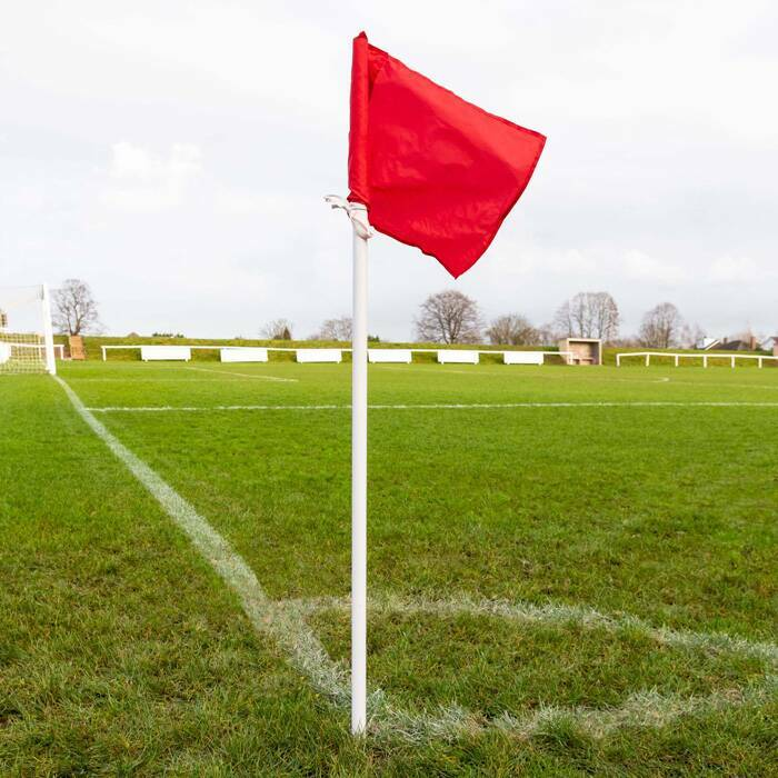 Basic Football Corner Pole And Flags | Football Corner Flags