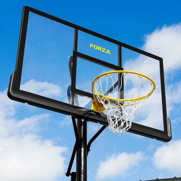 Professional Basketball Backboard | Regulation Basketball Posts & Hoop