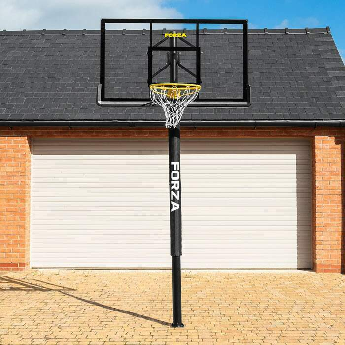 Adjustable Height Basketball Posts | Senior Basketball Post