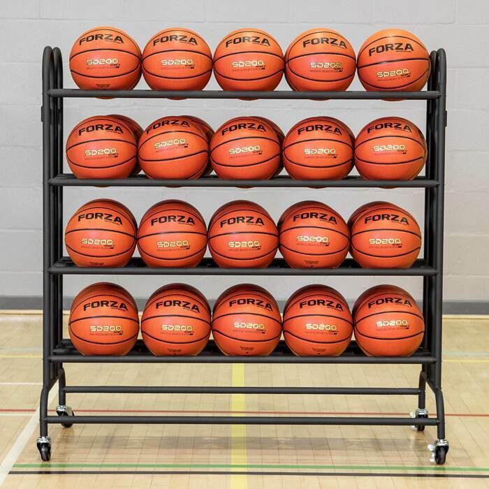 20 or 40 basketball rack