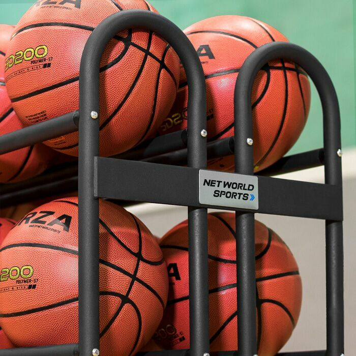 durable basketball ball trolley