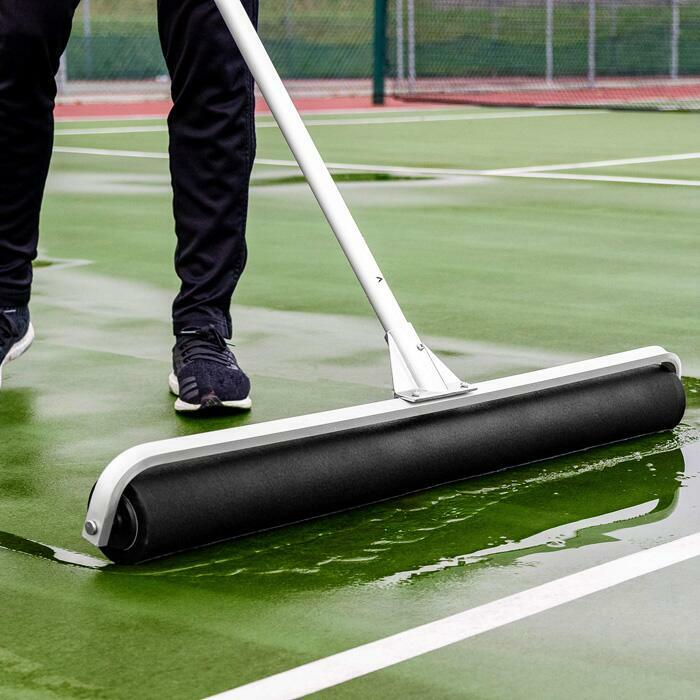 Black PU Foam Roller | Tennis Court Squeegee