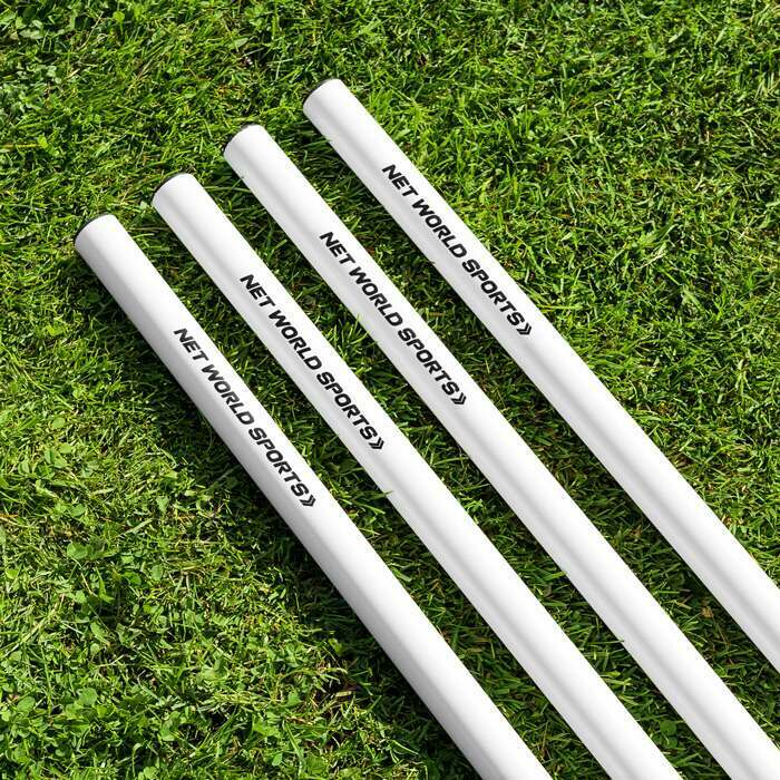 100% Weatherproof White Boundary Poles