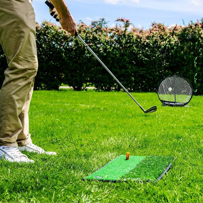 Golf training equipment home putting green