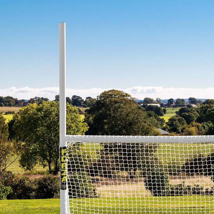 100% Weatherproof Rugby & Football Goal | Premium 2mm HDPE Netting