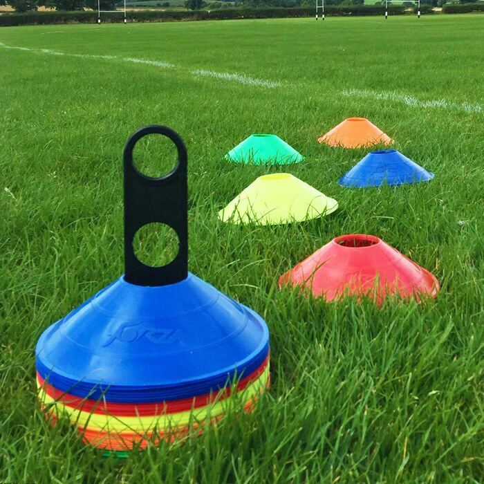 Football Marker Cones With Stand for Sale