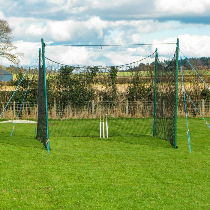 Supremely Durable Cricket Cage With 40mm Steel Poles | Suitable For Year Round Use