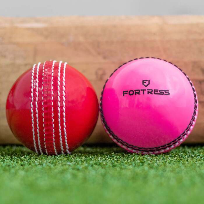 Pink & Red Plastic Cricket Training Balls
