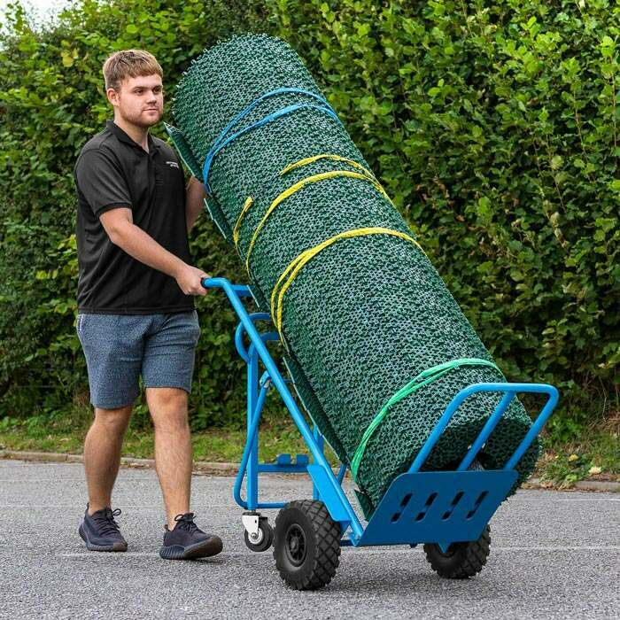 Cricket Mat Trolley | Roll-Up Cricket Matting