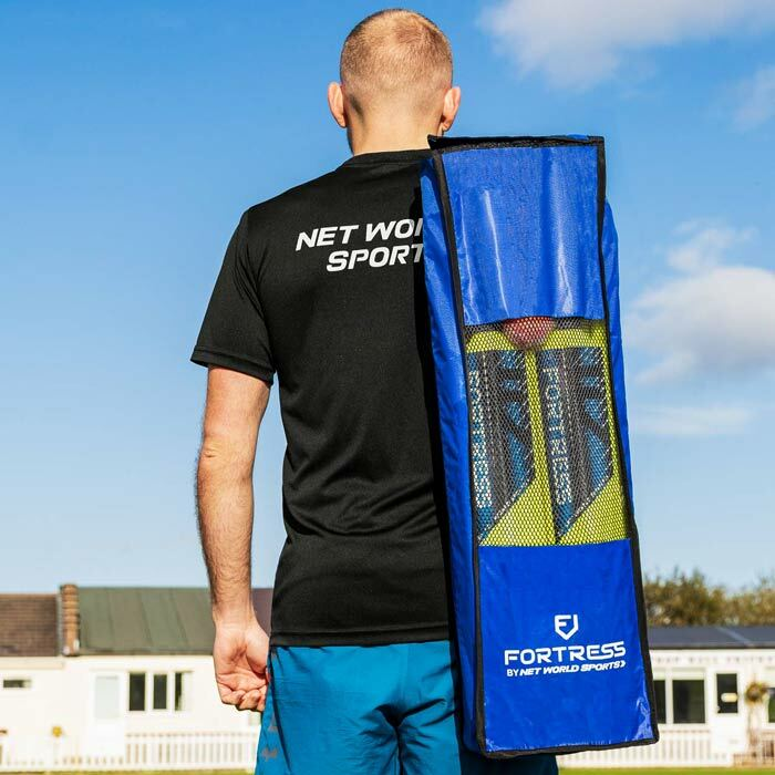 100% Portable Cricket Set With Heavy Duty Carry Bag | Quick Assembly Cricket Set