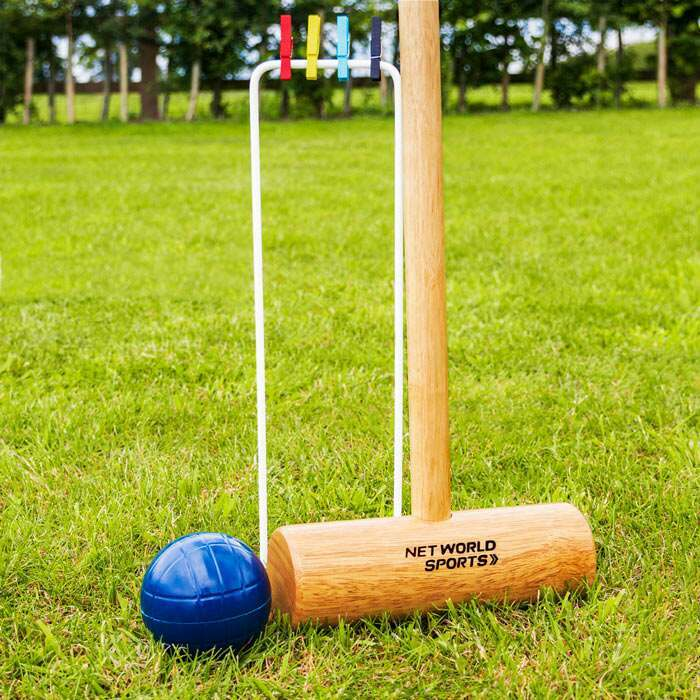 Durable Senior Croquet Set
