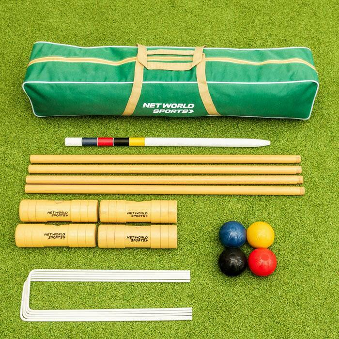 Robustes Garten Krocket Set