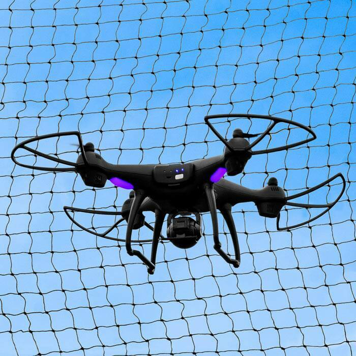 Professional-Grade Drone Safety Netting | Weatherproof 48mm Mesh Netting