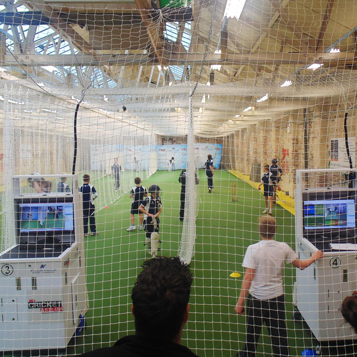 Custom Length Indoor Cricket Netting