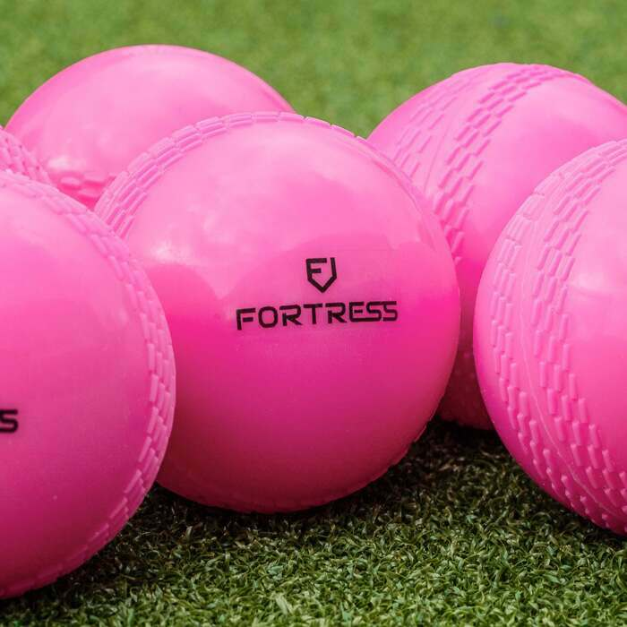 Pink Kwik Cricket Windballs | Day/Night Training Cricket Balls