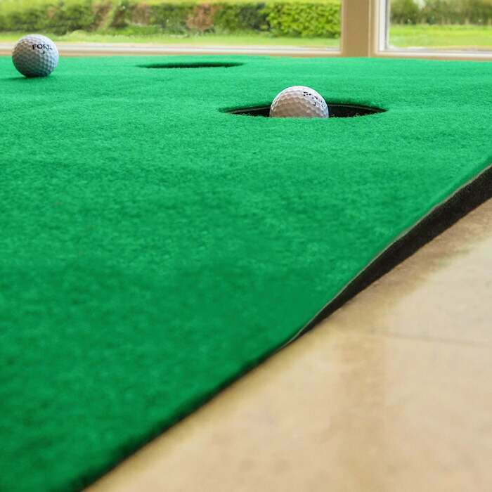 Indoor Golf Putting Mat | 2 Inch Incline