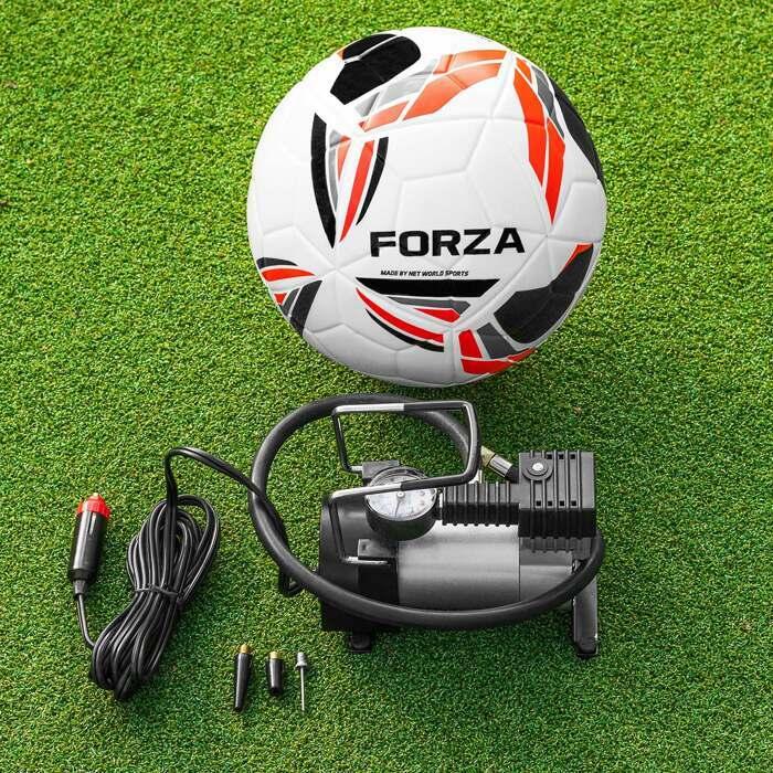 electric football pump with pressure gauge