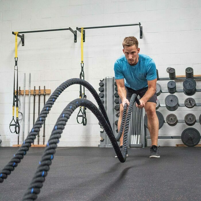Undulation Ropes For Full Body Workouts