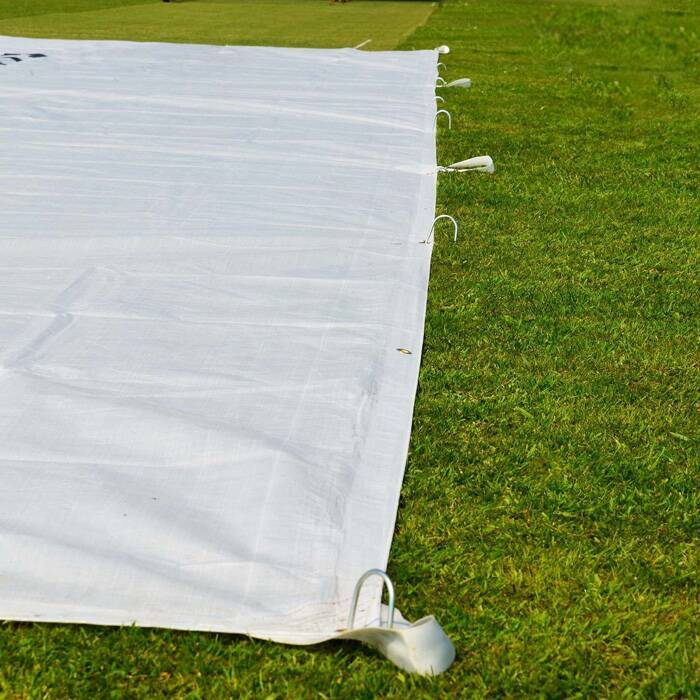 Industrial Tarps With Heavy-Duty Woven Grad Handles
