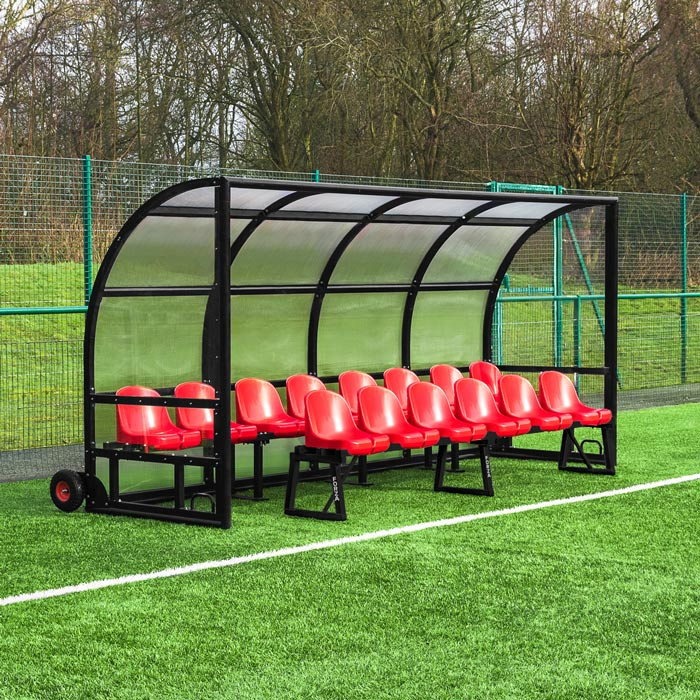 Two Tier Sports Team Benches | Football Team Shelters