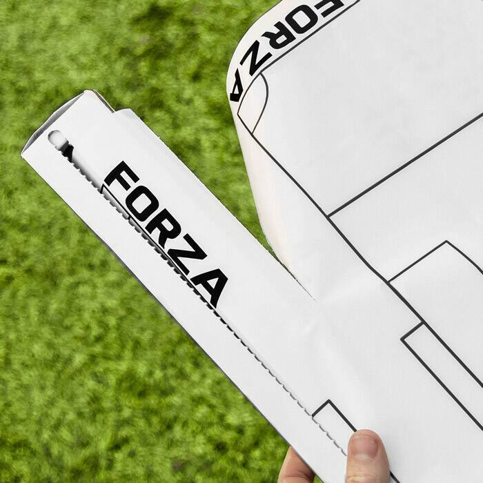 20 Sheets Available | FORZA Tactics Boards