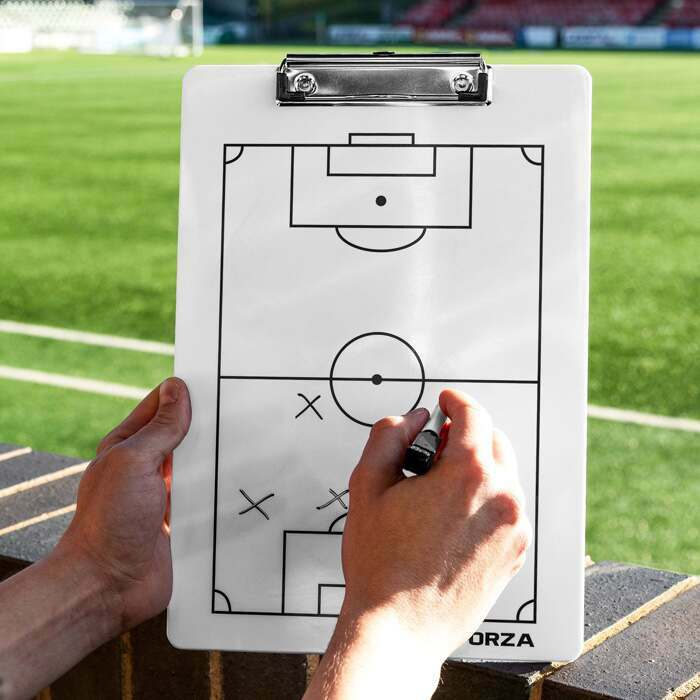 FORZA Soccer Coaching Clipboard | Soccer Coaching Tactics Board