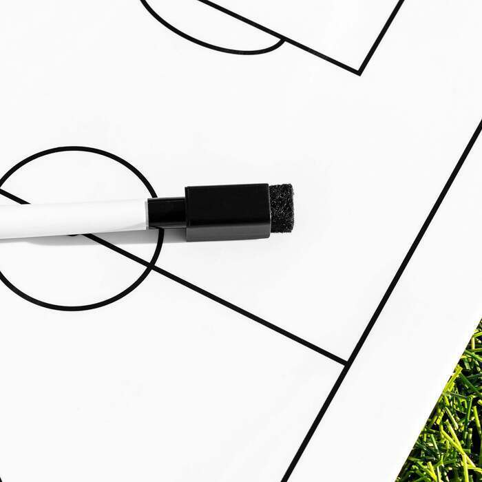 Dry Erase Football Whiteboard | Handheld Football Tactics Board