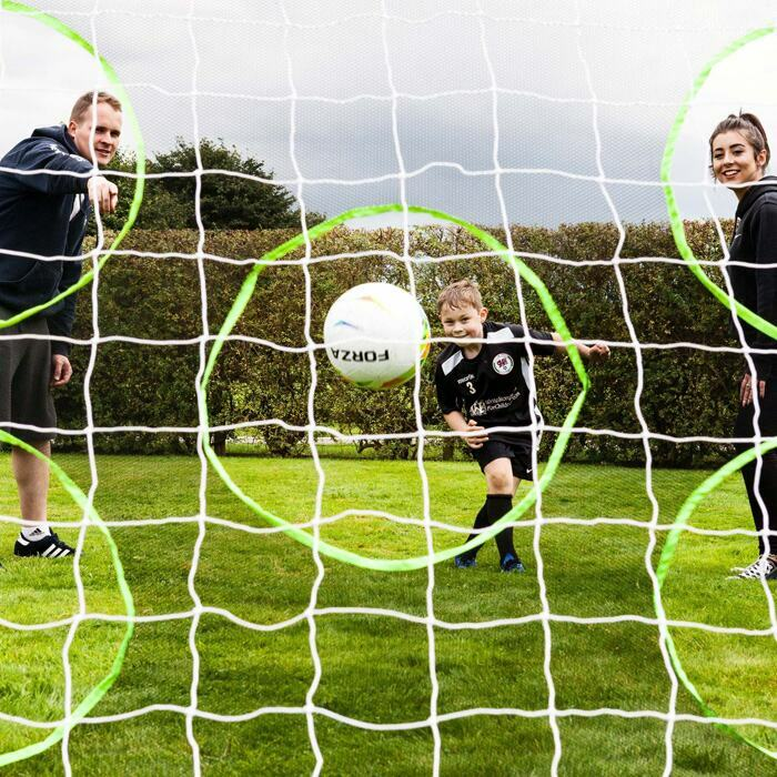 Multi-Hole Soccer Goal Target Sheets | Weatherproof Soccer Training Sheets