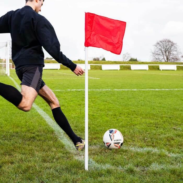 PVC Football Corner Poles | Nylon Football Flags