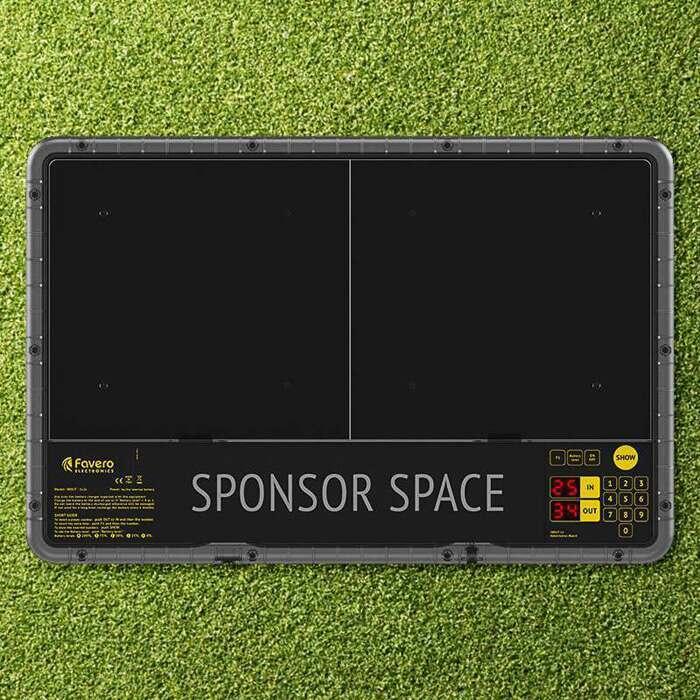 LED Display Football Substitute Board | Durable Football Sub Board