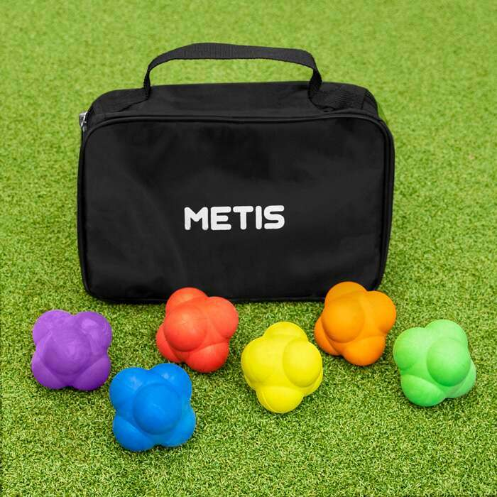 Pack Of 6 Reaction Speed Training Balls | Speed & Agility Training