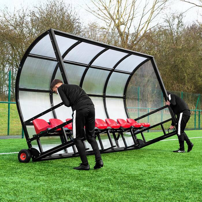 Fixed Team Shelters | Portable Team Benches