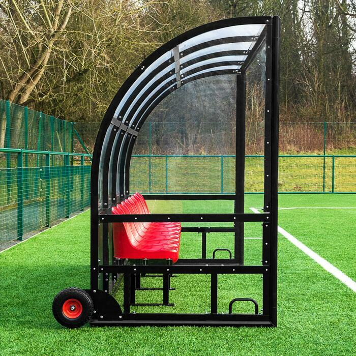 FORZA Alu60 Team Shelter & Bench | Dugouts For Sports Pitches