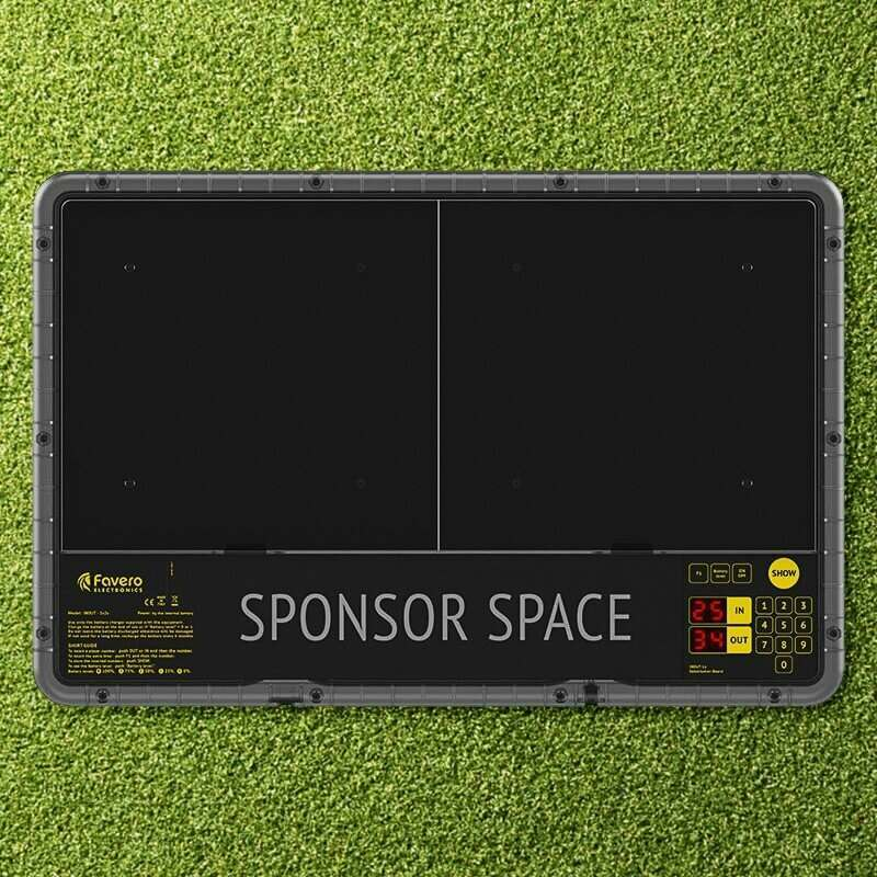 LED Display Football Substitute Board | Durable Football Sub Board