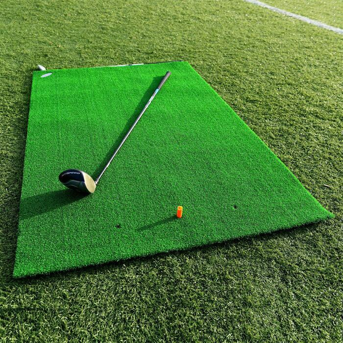 Portable Golf Practice Mat With Easy-Roll Design