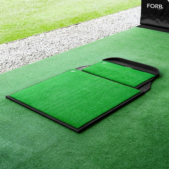 Replacement Golf Stance Mat With High-Quality Rubber Base