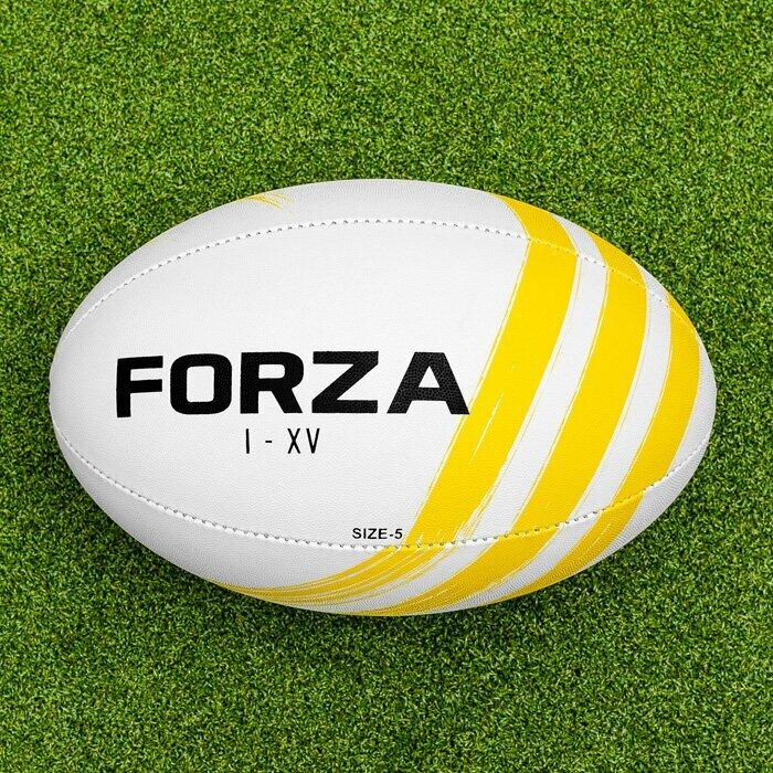 100% Handgestikte Rugbyballen