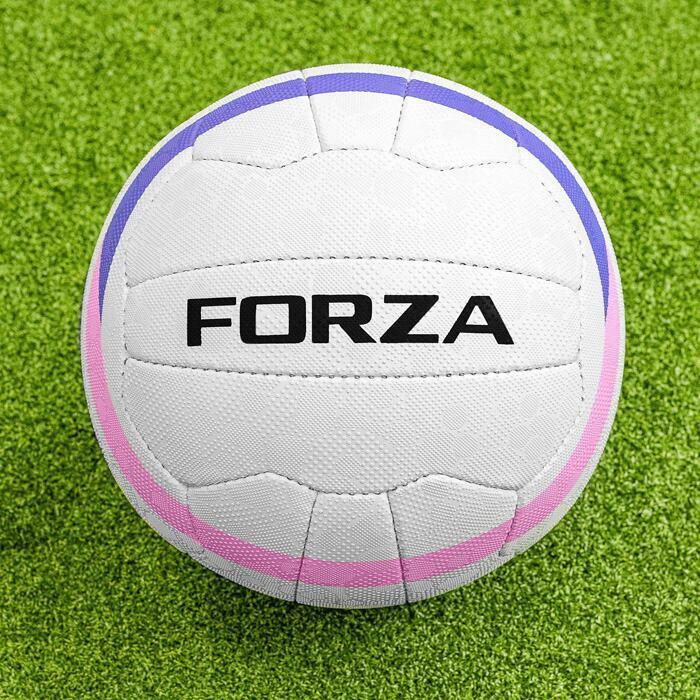 FORZA Ballons de Netball pour des Matchs Cousu à Main
