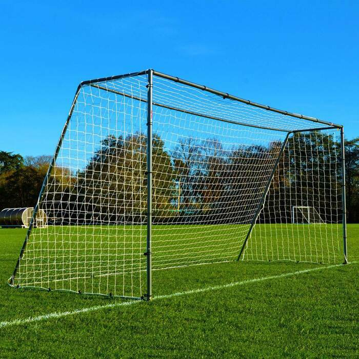 Strong Steel Football Goals | Weatherproof Garden Football Goal