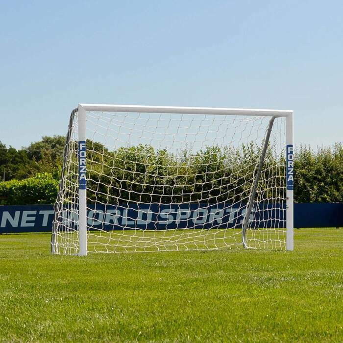 1.8m x 1.2m Football Goals | Weatherproof Aluminium Football Goal