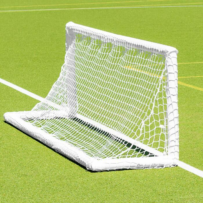 8ft x 2.5ft FORZA PVC Mini Hockey Target Goal | Hockey Goals For Accuracy Practice