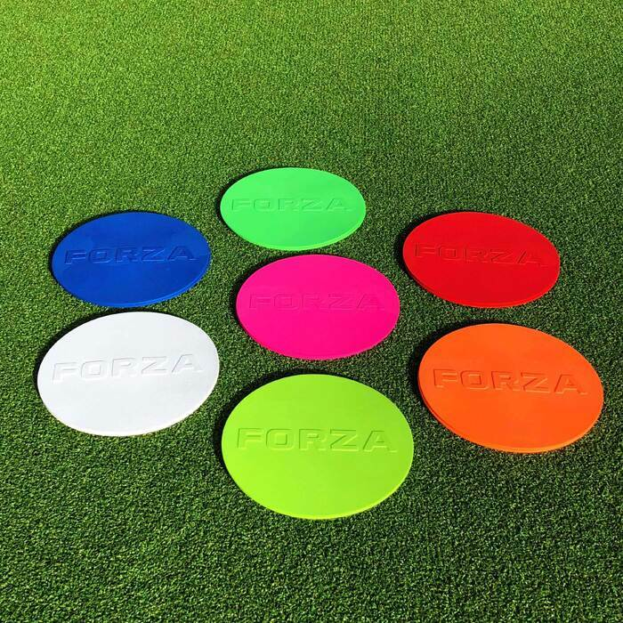 Rubber Flat Disc Training Markers | Football Flat Marker Cones