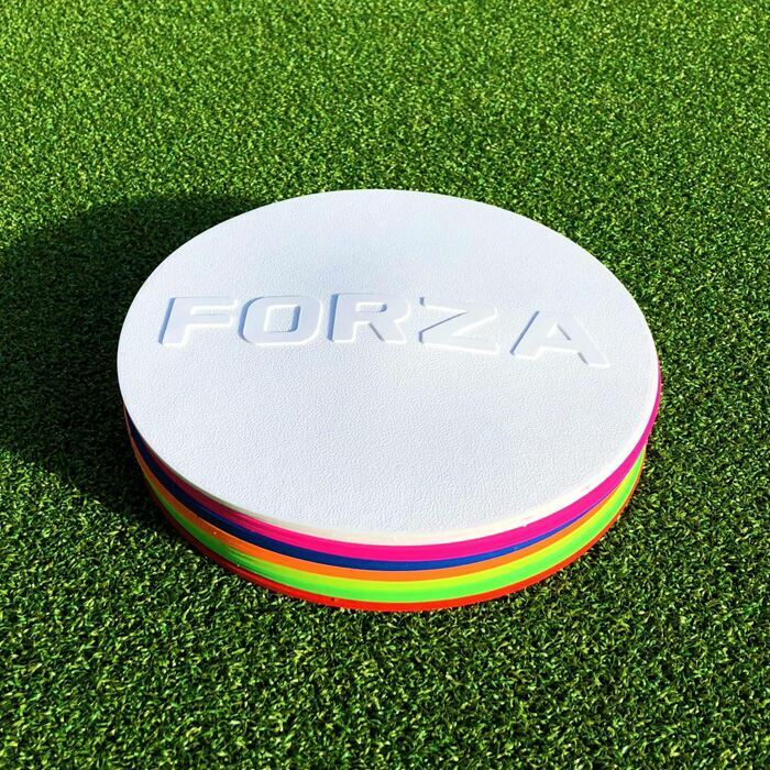 Flat Rubber Sports Markers | Flat Training Marker Discs