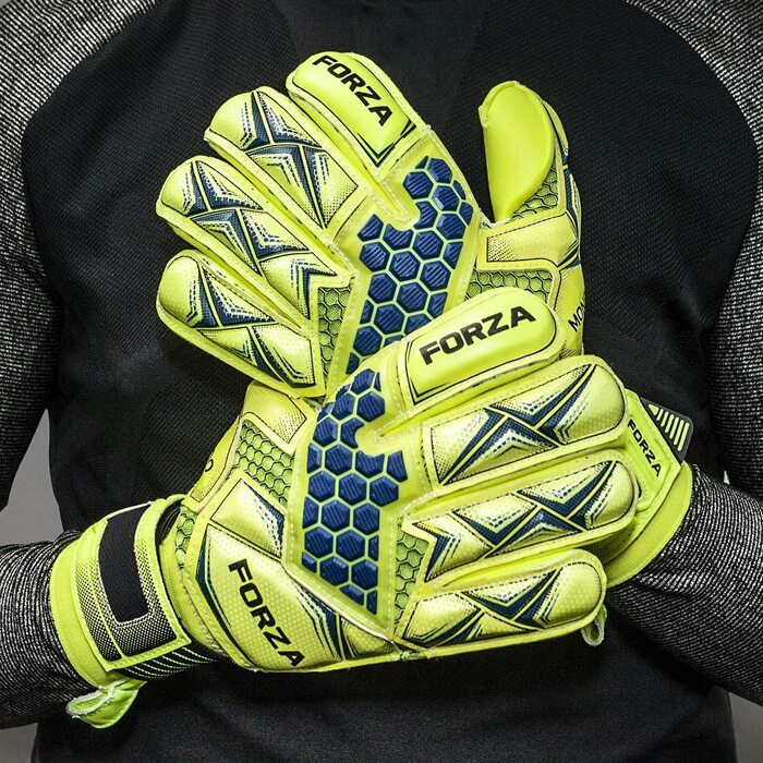 FORZA Mondo Goalkeeper Gloves For Club Soccer | Elite Level Soccer Goalkeeper Glove