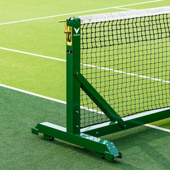 Freestanding Tennis Posts For Singles & Doubles Courts | Tennis Court Equipment