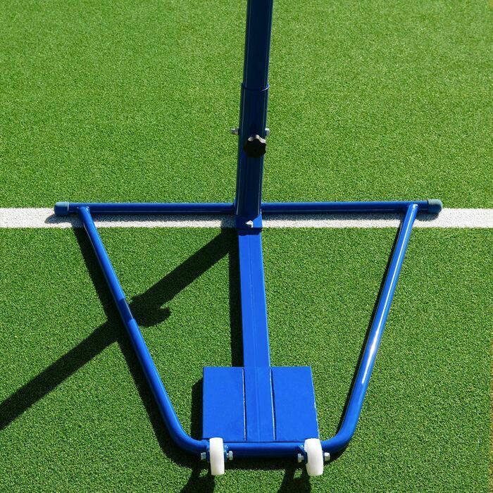 Portable Netball Post With Heavy Duty Base & Non Slip Wheels