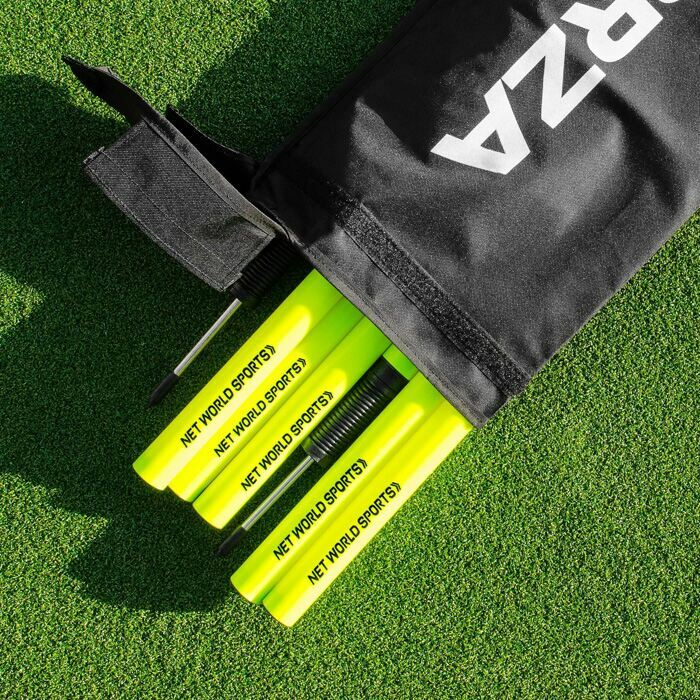 Football Slalom Pole Container | Football Slalom Training Pole Carry Bag