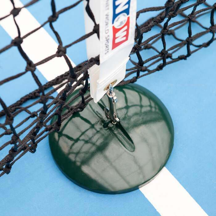 100% Weatherproof Base Weight | Indoor & Outdoor Tennis Courts