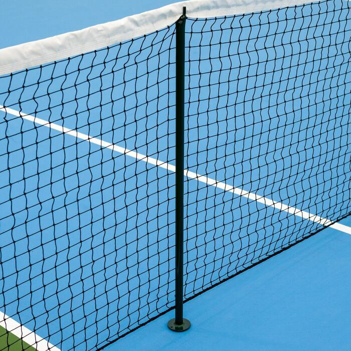 Professional Tennis Net Singles Sticks | Lightweight Aluminium Design